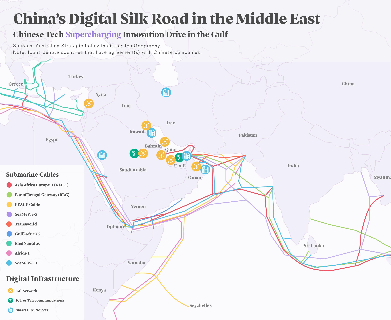 La Ruta de la Seda Digital | Asia Society Policy Institute