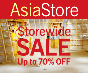 AsiaStore Storewide Sale up to 70% off