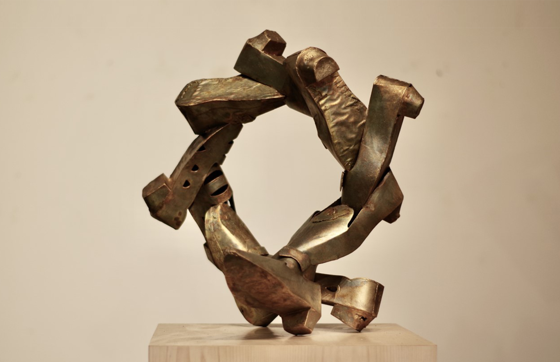 'Joss,' 2020, Bronze with patina, Courtesy of the artist