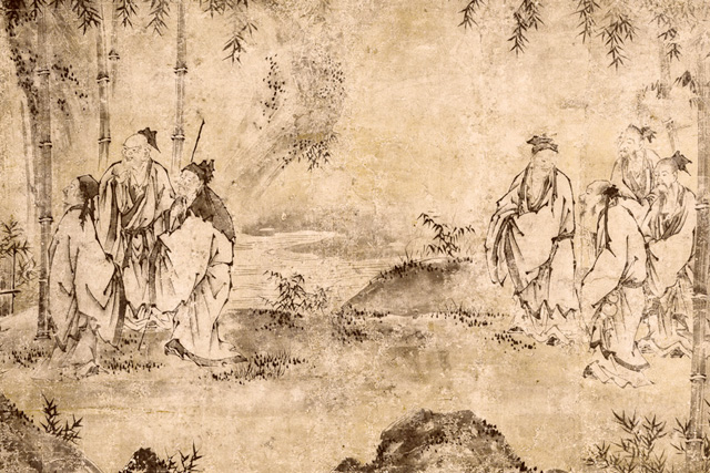 Seven Sages of the Bamboo Grove | Asia Society