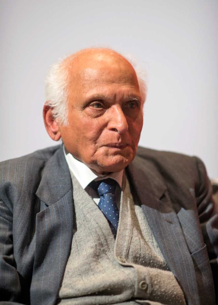 Renowned fiction writer Intizar Husain participated in multiple panels at the LLF. (Saad Sarfraz Sheikh)