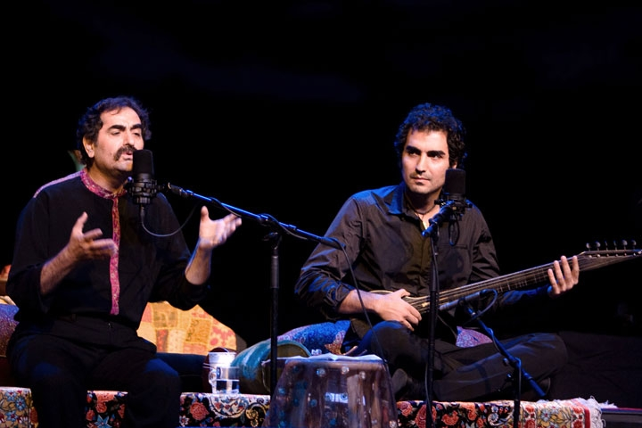 Shahram and Hafez Nazeri. (Navid Soheillian)