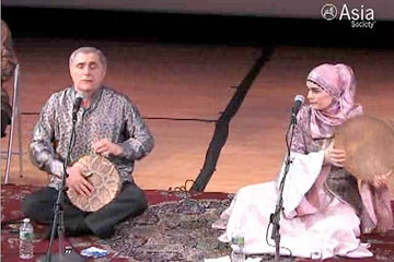 Excerpt: The Alim Qasimov Ensemble in concert at Asia Society New York on Mar. 12, 2010. (3 min., 57 sec.)