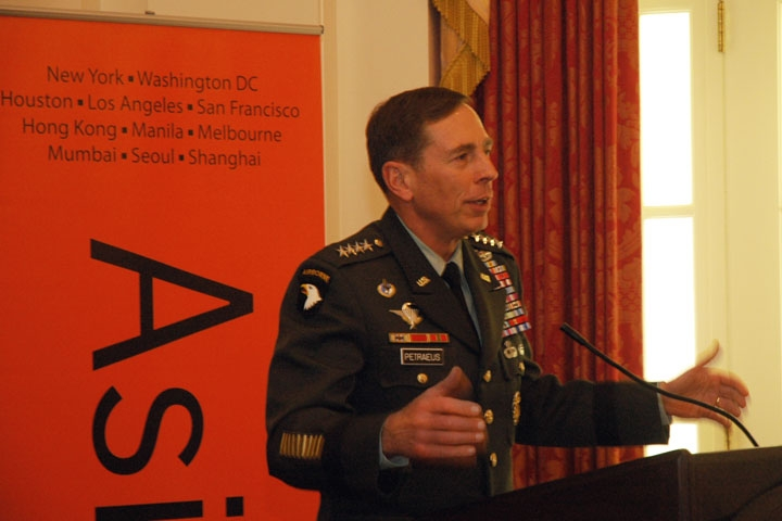 General David Petraeus emphasizes the importance of educational exchanges as a tool for countering extremism. (2 min., 14 sec.)(Photo: Aditya Bannerjee/Asia Society Washington Center)