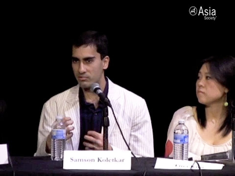 Tina Kim, Samson Koletkar, and Edwin Li share their perspectives on stand-up comedy in San Francisco on May 13, 2010. (4 min., 41 sec.)