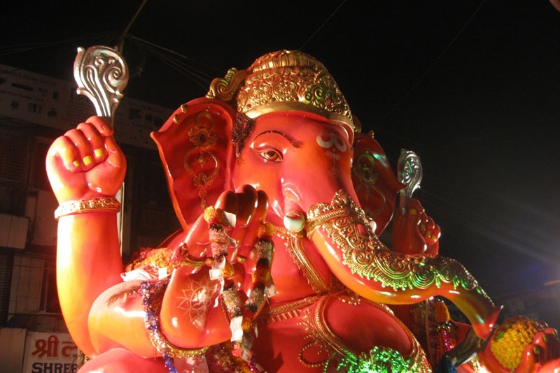 A clean sweep for a greener ganesh asia society