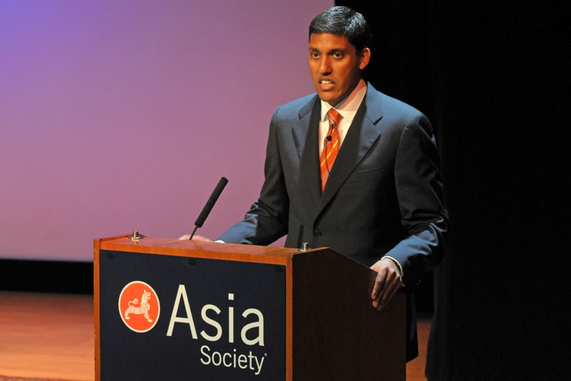 Dr. Rajiv Shah, Administrator of the United States Agency for International Development (USAID), at Asia Society's New York headquarters on August 19, 2010. (Elsa Ruiz/Asia Society)