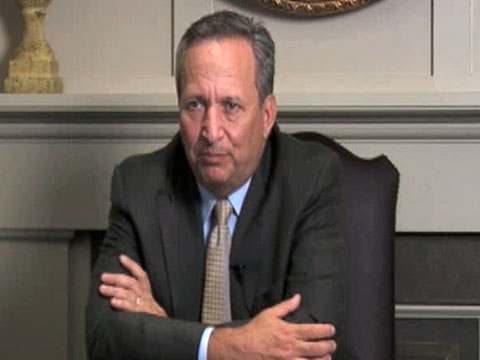 "In Washington on Nov. 8, 2010, Director of the White House National Economic Council Lawrence Summers argues ""we all have a very great stake"" in the global economic rebalancing. (1 min., 37 sec.)"