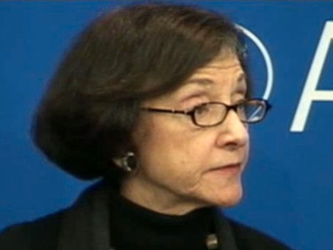 In New York on April 4, 2011, Carol Gluck cautions against accepting any predictions about what's next for post-quake Japan. (1 min., 13 sec.)