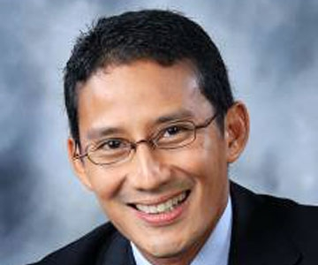 Sandiaga Uno, Asia 21 Fellow and Founding Partner of Saratoga Capital.