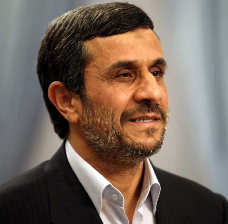 Iranian President Mahmoud Ahmadinejad in Tehran on September 17, 2011. (Atta Kenare/AFP/Getty Images)