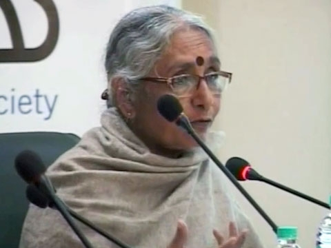 Aruna Roy argues for managed, nuanced dissent as a necessary part of any democratic society, particularly one as big and pluralistic as India, in New Delhi on Jan. 13, 2012. (5 min., 16 sec.)