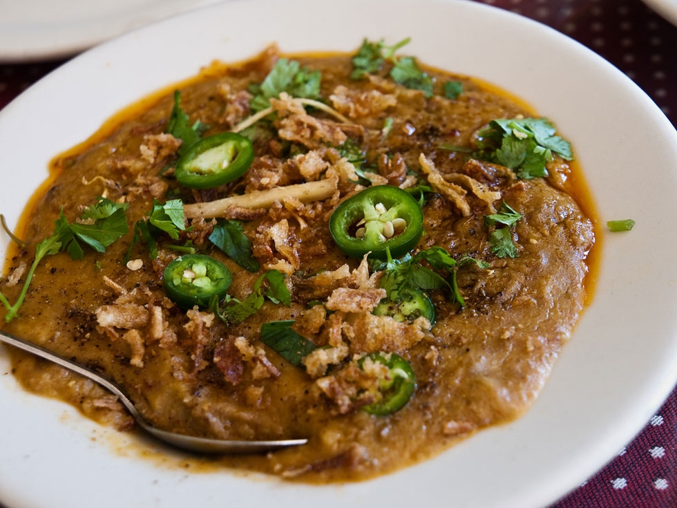 Haleem, India.
