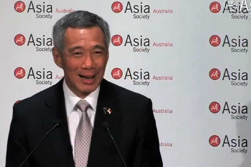 Singapore Prime Minister Lee Hsien Loong addresses demographic challenges facing his country. (1 min., 5 sec.)