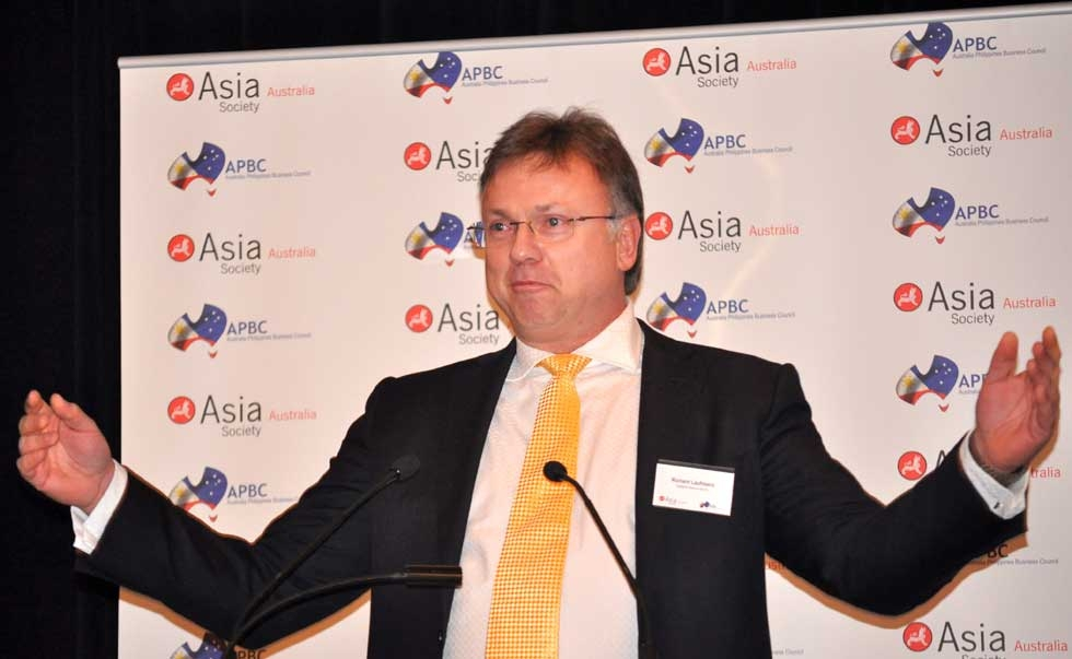 Richard Laufmann, CEO, Indophil Resources. (Ian Lever)