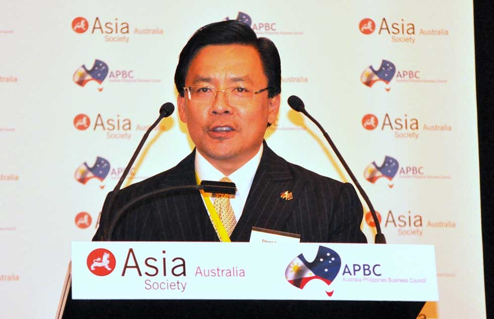 Eduard Alcordo, National President, Australia Philippines Business Council. (Ian Lever)