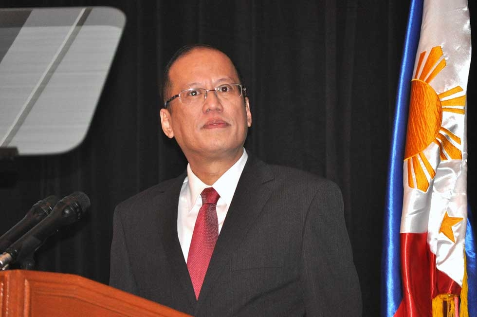 President Aquino delivering the keynote at the Asia Society Australia / Australia Philippines Business Council Dinner in Sydney on October 25, 2012. (Ian Lever)