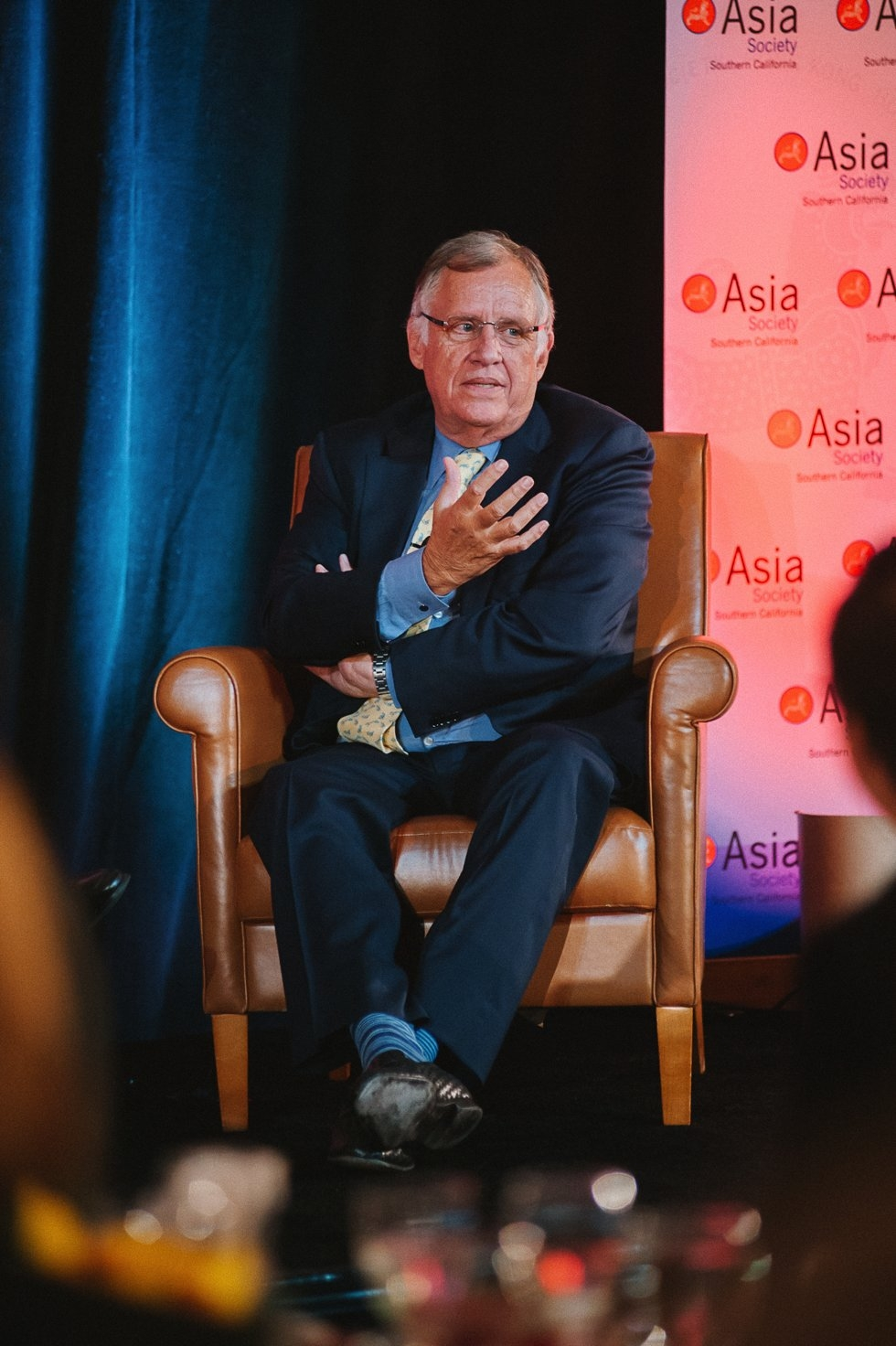 Lewis Coleman, President, Chief Financial Officer, DreamWorks. (Molly Ann/Asia Society)