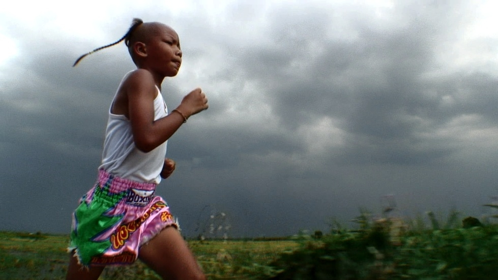 Pet running her 5K after school. (Todd Kellstein)