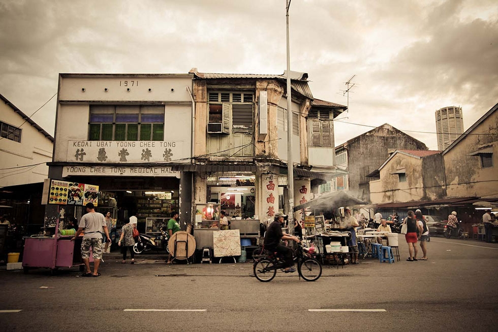 Street food in George Town. (Catherine Mar)