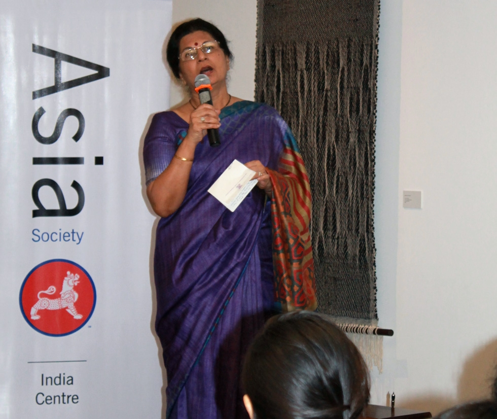 Meera Isaacs, Principal, Cathedral and John Connon School. (Asia Society India Centre)