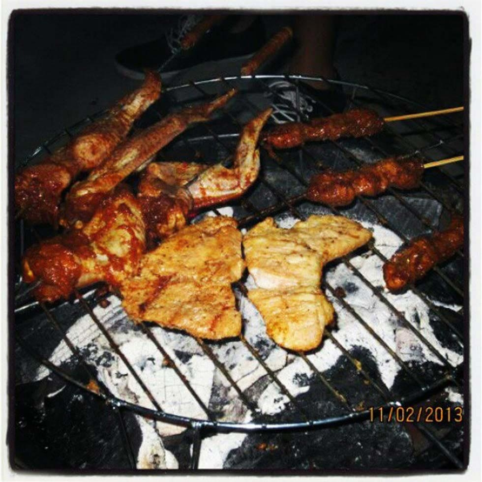 "25. ""BBQ night."" (easteryeoh)"