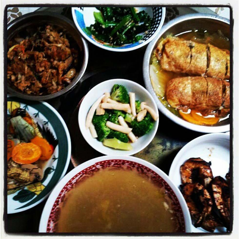 "39. ""Our new year lunch."" (easteryeoh)"