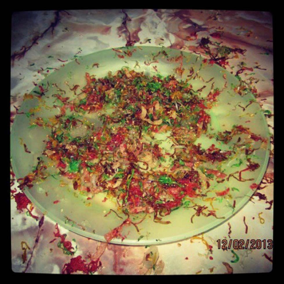 "41. ""Yee Sang. So messy, huat ah!"" (easteryeoh)"