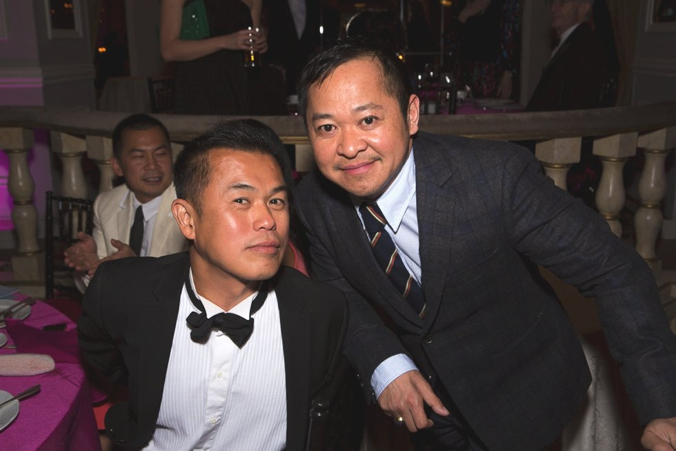 Chefs Simpson Wong (L) and Pichet Ong. (Bennet Cobliner/Asia Society)