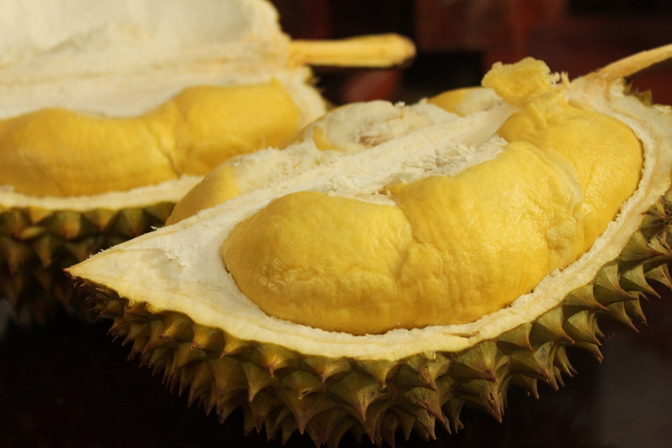 The sweet flavor and thick texture of durian makes it perfect for ice cream or blended milk shakes. (rambletamble/Flickr)