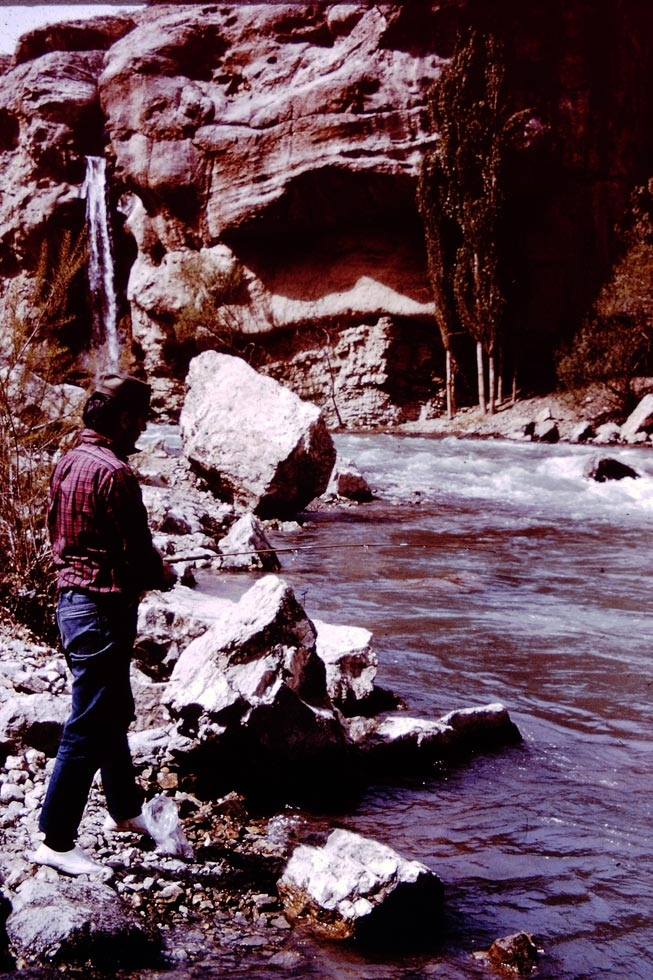 Trout fishing is a popular sport on the many streams throughout the country.