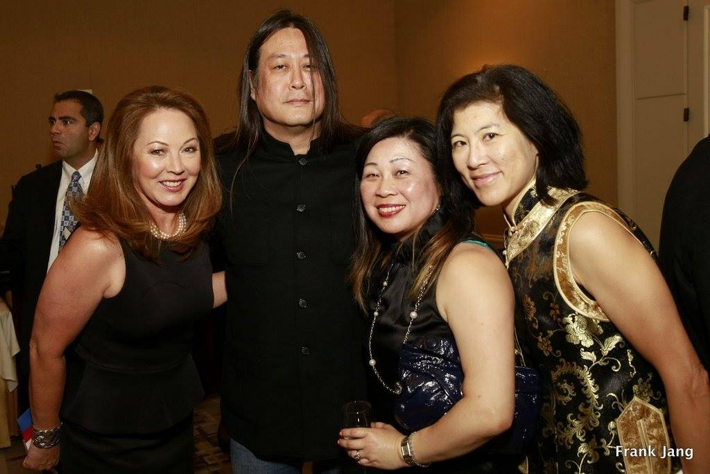 ASNC Advisory Board Member and Annual Dinner Master of Ceremonies, Sydnie Kohara; 13th Annual Dinner Honoree, Kaiser Kuo; ChinaSF's Executive Director, Darlene Chiu Bryant; and Annual Dinner volunteer, Barbara Koh (Frank Jang Asia Society)
