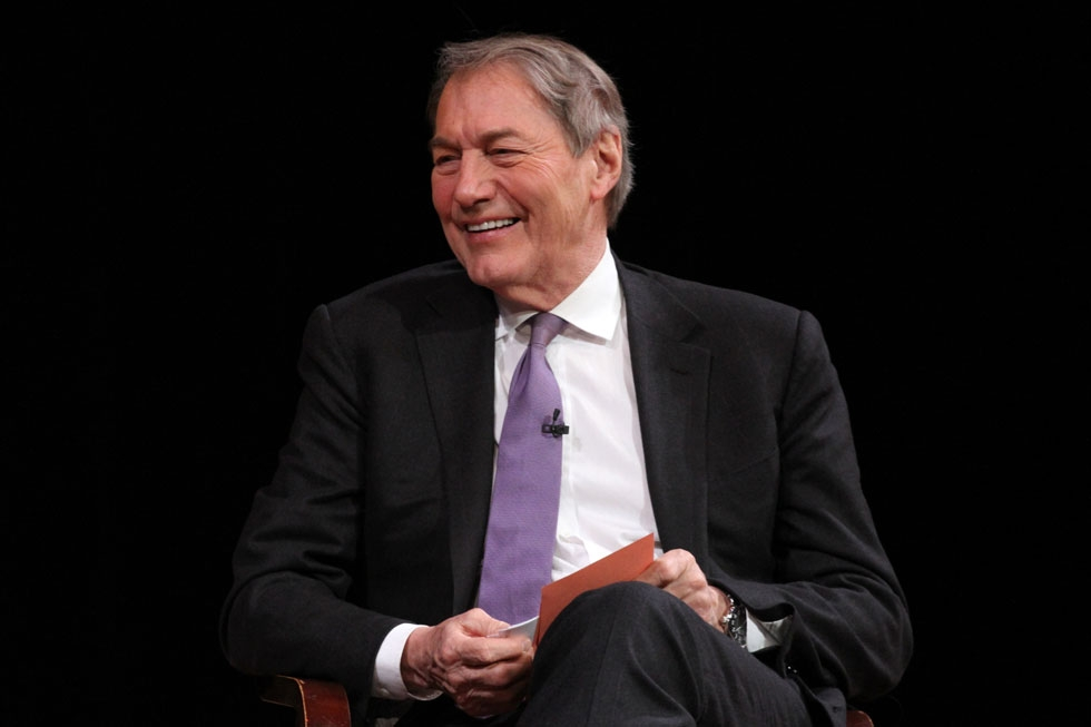 Veteran broadcast journalist Charlie Rose joined Asia Society's Board of Trustees in November 2014. (Ellen Wallop/Asia Society)