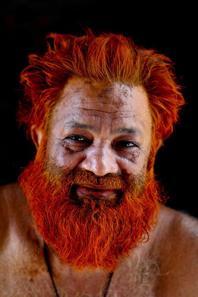 Mohammad Oliwho, this time with a deeper shade of orange in his hair and beard. (GMB Akash)