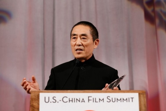 Zhang Yimou at the 2015 Asia Society U.S.-China Film Summit and Gala