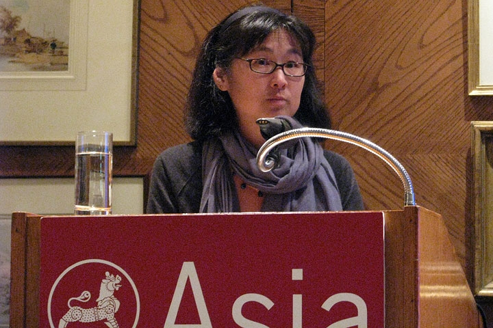 Maya Lin in Hong Kong on Mar. 11, 2010. (Asia Society Hong Kong Center)