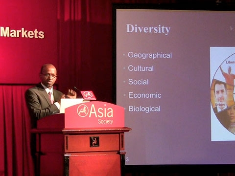 Navi Radjou explains the factors that make India different, and competitive, in Hong Kong on July 27, 2010. (3 min., 6 sec.)