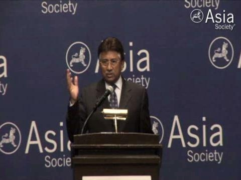In Houston on Oct. 19, 2010, Pervez Musharraf outlines the post-1989 Western policy failures that he says helped spawn Al Qaeda and the Taliban. (2 min., 57 sec.)
