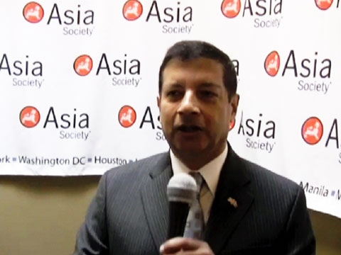 Nepalese Ambassador to the US Shankar P. Sharma touches on Nepal's emerging constitution and the possible return of America's Peace Corps to Nepal. (2 min., 9 sec.)