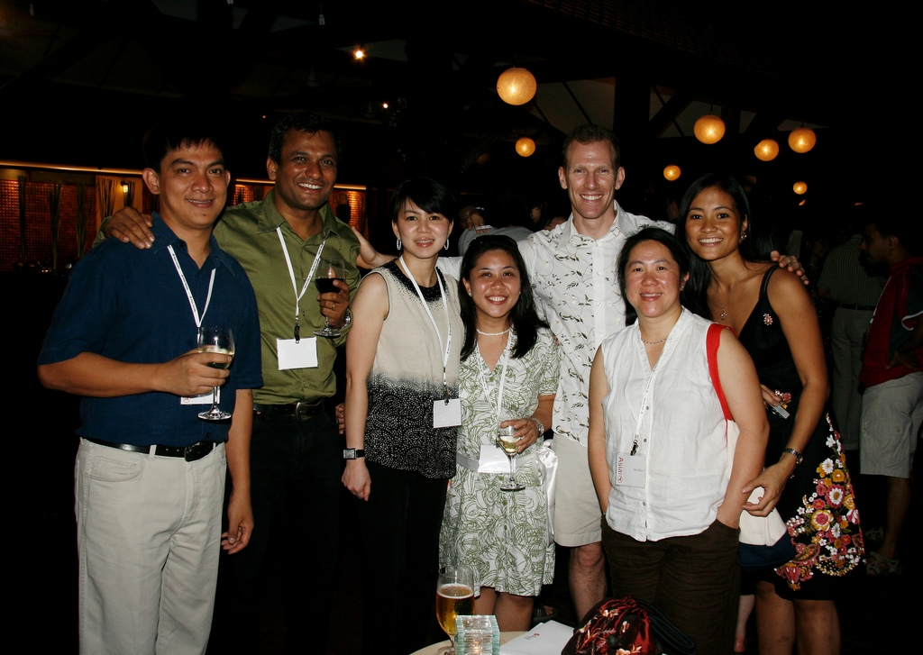 At the 2008 Young Leaders Forum in Phuket, Thailand.