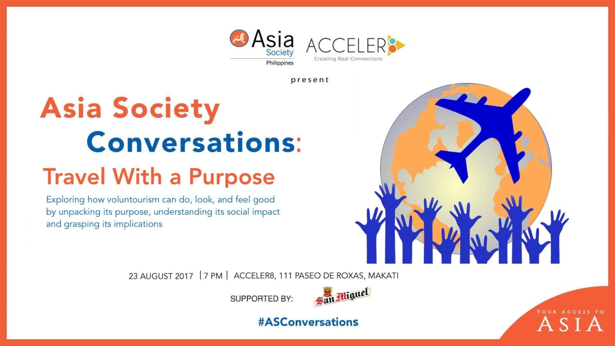 ASC Travel With A Purpose | 23 August | 7 PM | Acceler8