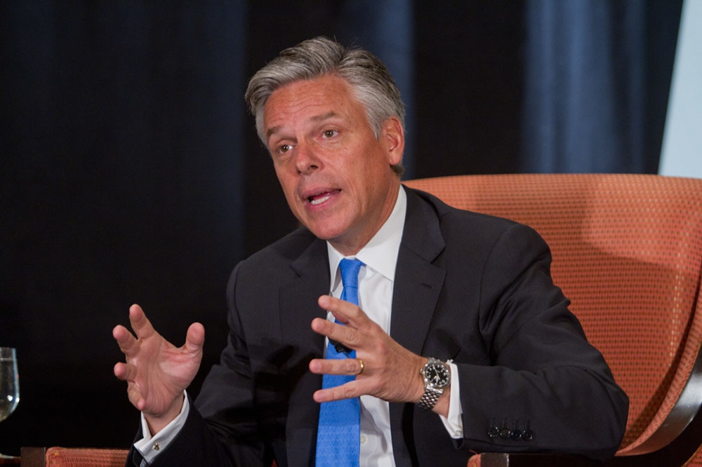 Huntsman sees opportunity in China's recent leadership change. (Richard Carson)