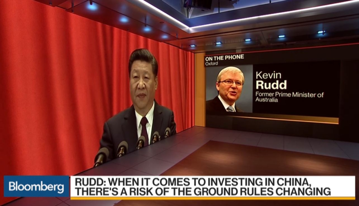 Bloomberg Daybreak Americas Interview with Kevin Rudd