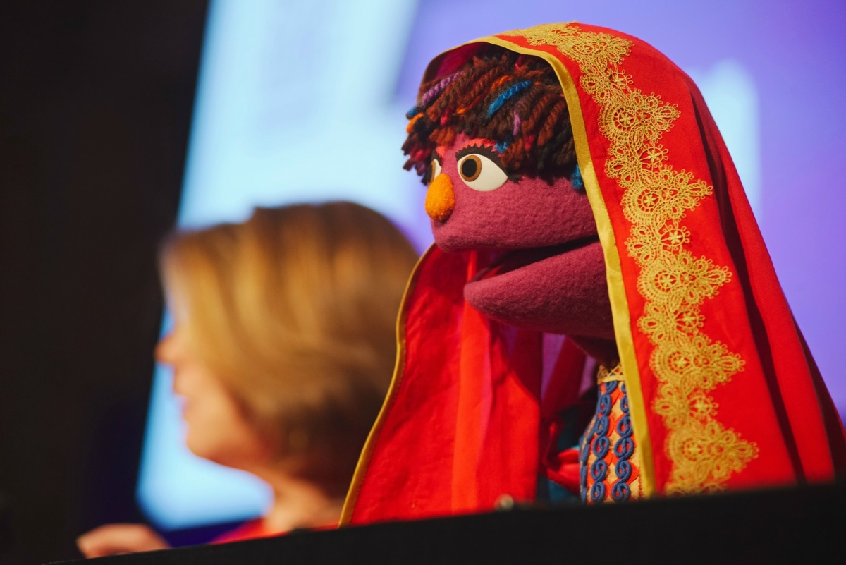 Zari the Muppet at the Asia Game Changer Awards