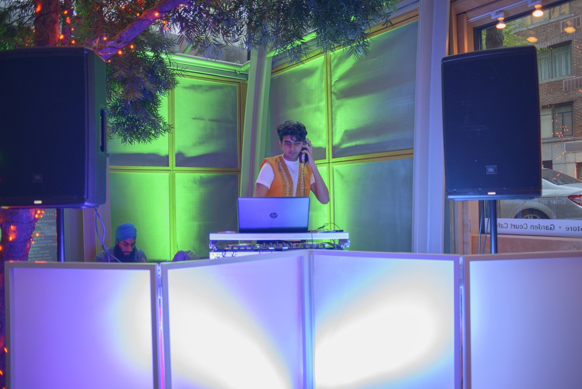 DJ at Asia Society's Leo Bar