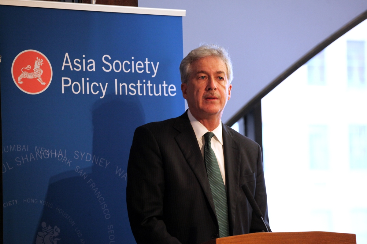 William Burns at Asia Society