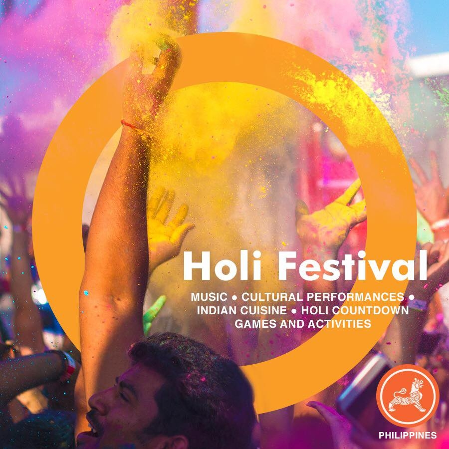 Holi 2018 | 4 March 2018 | 3:30 PM | SM By the Bay North Fountain