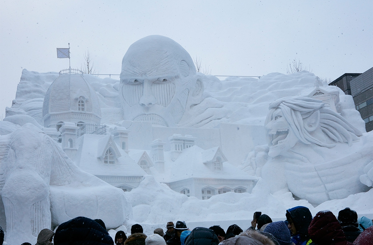 8 Photos From Japans Annual Ice Sculpture Winter