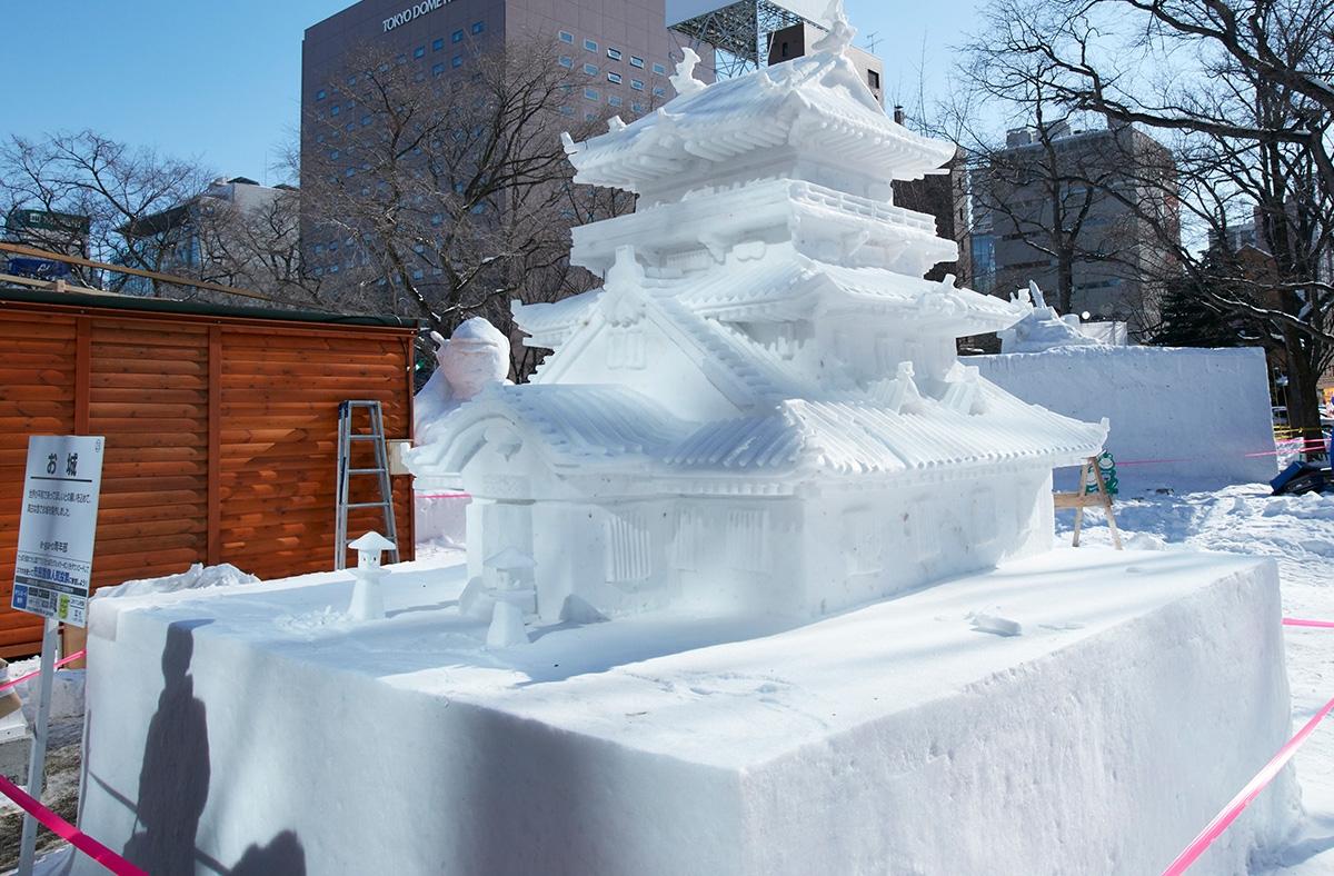 sapporo snow festival jnto asia society. Black Bedroom Furniture Sets. Home Design Ideas