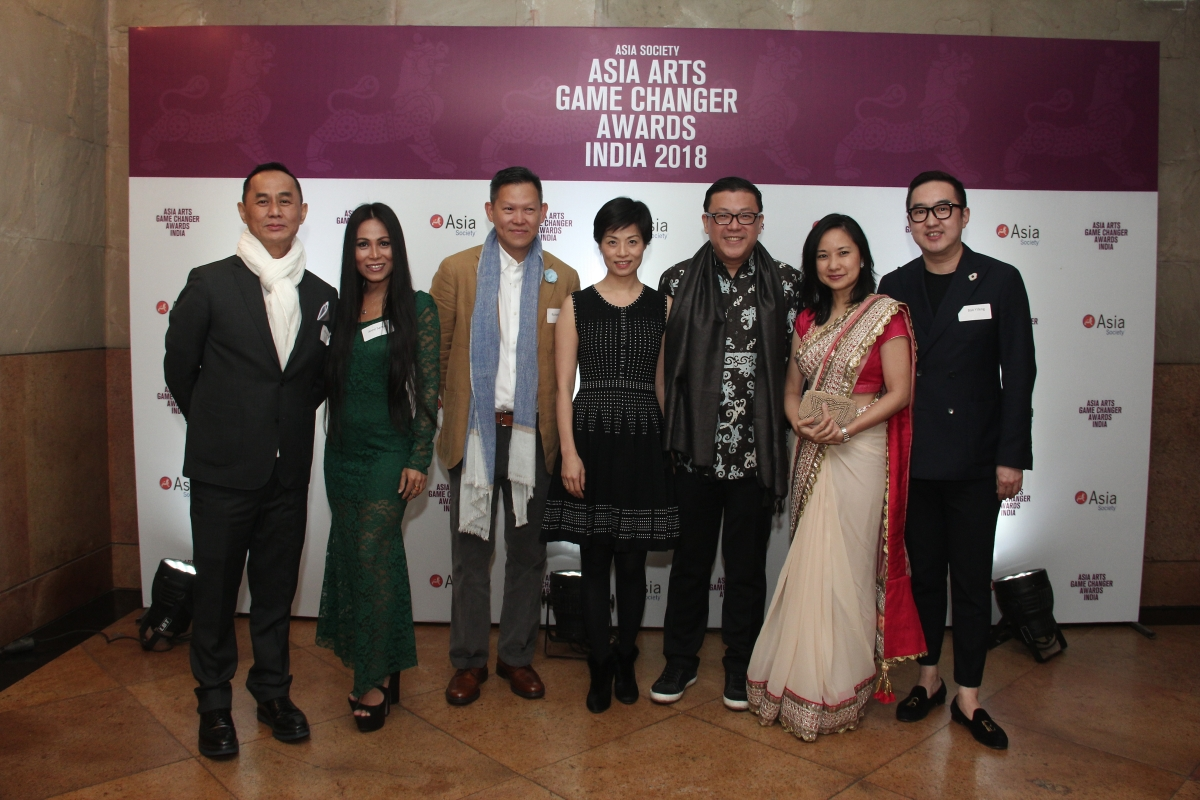 Asia Arts Game Changer Awards India guests arrive